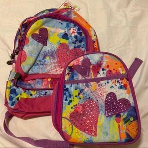 Brand New 3C4G Backpack & Matching Lunchbox